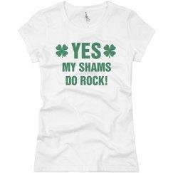 Yes, My Shams Do Rock St Pattys
