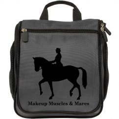 Makeup Muscles and Mares Toiletry Bag