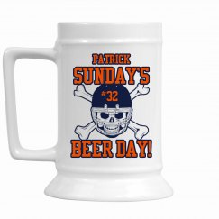 Sunday Beer Day Stein