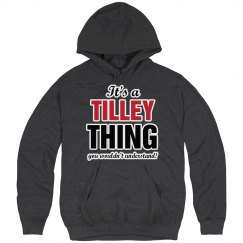It's a Tilley thing