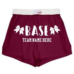 Cheerleader Base Custom Shorts