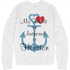 Heart anchored in Houston