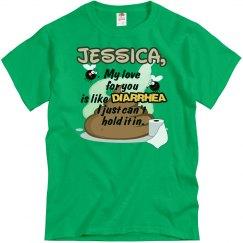 Jessica, my love...