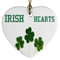 Irish Hearts Shamrocks