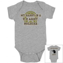 Baby Boy Army Son Onsie