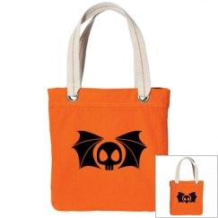 Halloween Bat Tote Bag