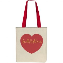 Finally Eighteen Tote Bag