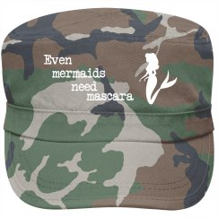 Mermaids need mascara fidel hat