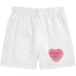 Candy Heart Guy Matching Boxers