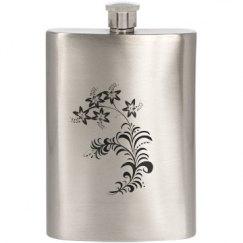 Floral I Flask