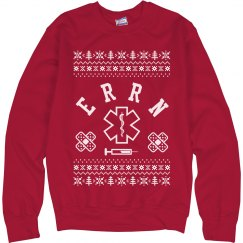 ER Registered Nurse Ugly Sweater