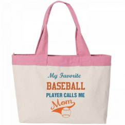 Baseball Mom Tote