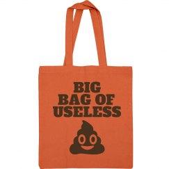 Trendy Poop Emoji Bag