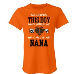 Football Nana Heart
