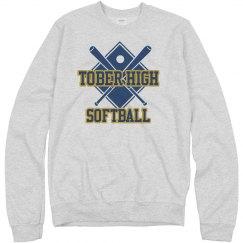 High School Softball Fan