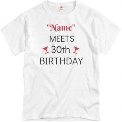 """Name"" meets birthday"