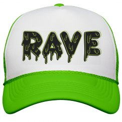 Rave Melt Neon Hat