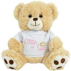 Glitter and Sass teddy