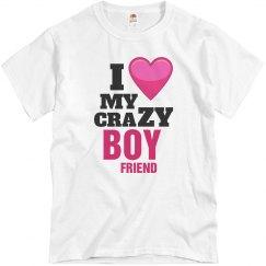 Love my crazy Boyfriend!