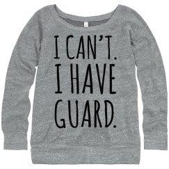 Color Guard Fashion Sweatshirt