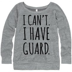 Color Guard Fashion Sweatshirt