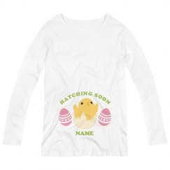 Custom Easter Mom Maternity Shirt