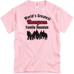 Thompson Family Reunion