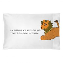 Cute Lion Pillowcase