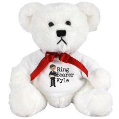 Ring Bearer Stuffed Bear