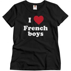 I love French Boys!