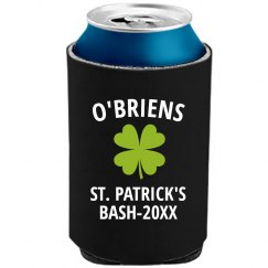 Custom St. Patrick's Day Bash