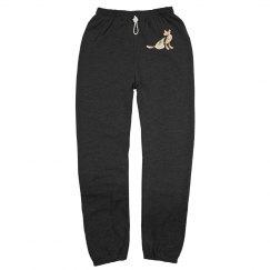 Rainbow cat pants
