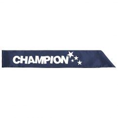 Champion Sash
