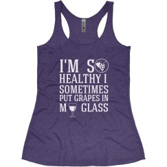 So Healthy - Wine Tank