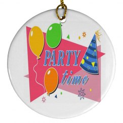 Party Time Ornament