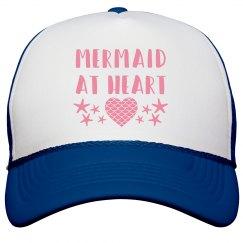 Mermaid at Heart Hat