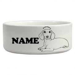 Cute Custom Pet Bowl