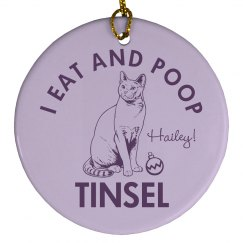 My Cat Eats Tinsel