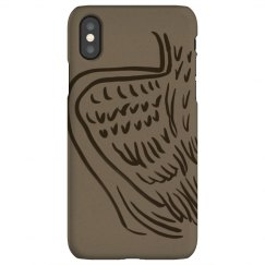 Paper angel wing case
