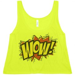 Neon WOW! Comic Top