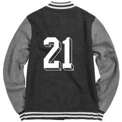 Number 21 Varsity Jacket