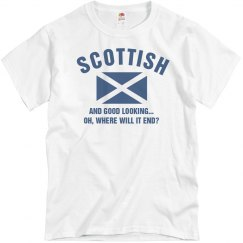Scottish and good looking