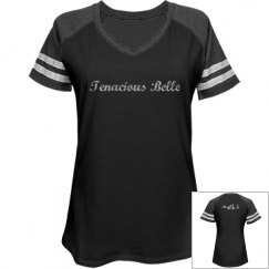 Distressed triathlon relaxed sport Tee