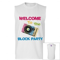 Block Party Muscle Tank