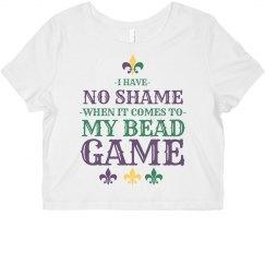 No Shame For Bead Game Mardi Gras