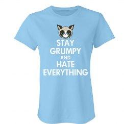 Keep Calm You Grumpy Cat