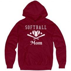 Softball Mom Rhinestone