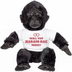 Harambae Mine Valentine Animal Gift