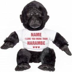 Funny Harambe Valentine Gift