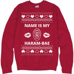 Cute Haram-bae Valentine Sweater